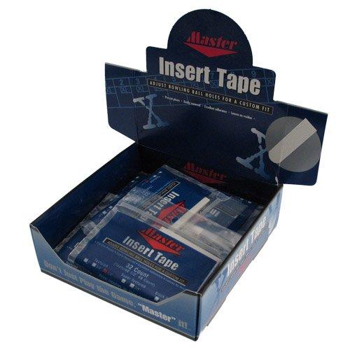 Insert Tape White Textured 1/2 inch Display Box/12 - WHITE / 1/2