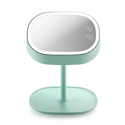 Desktop Rechargeable Vanity Mirror Led Light Makeup Mirror Home Makeup Mirror