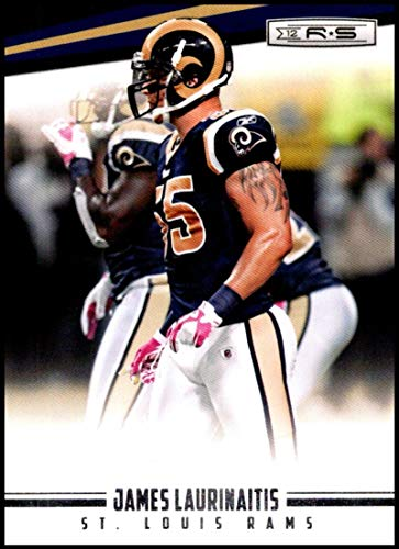 2012 Panini Rookies and Stars #135 James Laurinaitis NM-MT St. Louis Rams Official NFL Football Trading Card ()