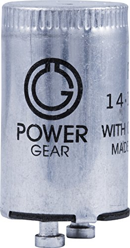(Power Gear Fluorescent Starter, FS-2, Standard ( 2-pin ), 2-Pack, 54388)