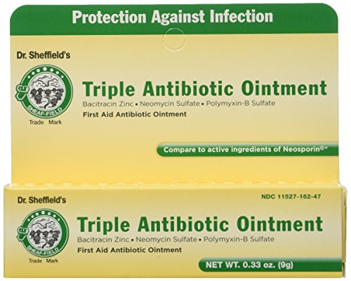 Dr. Sheffield's Triple Antibiotic Ointment .33 ounce tube (3 Pack)
