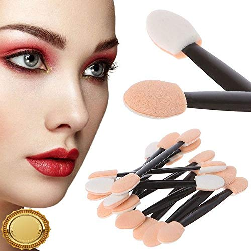 Gatton 12Pcs Sponge Nail Art Makeup Powder Puff Brush Double-ended Eyeshadow Stick Tool | Style MKPBRUSH-21181518]()