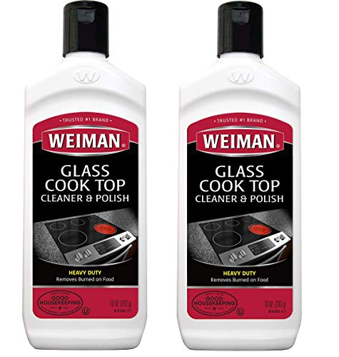 Weiman Cooktop Cleaner and Polish 10 Ounce 2 -