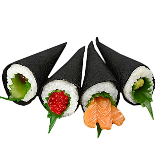 George Jimmy 2 PCS Simulation Sushi Food Model Sushi Cooking Window Display Props - Random Color #28 by George Jimmy