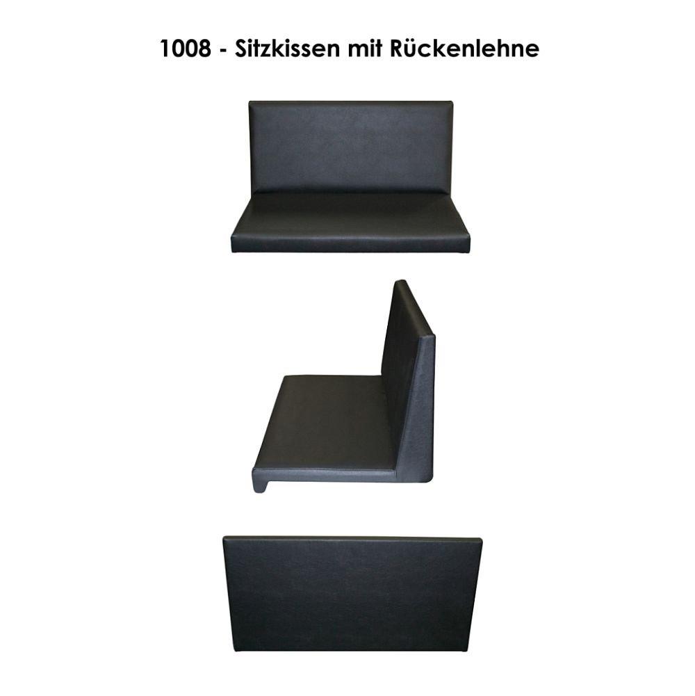 Kissen mit Rückenlehne 1008 schwarz: Amazon.de: Küche & Haushalt