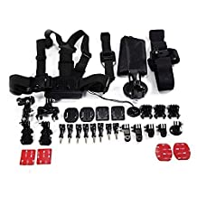 Accessory Kit Ultimate Combo Kit 33 accessories for GoPro HERO3+,GoPro HERO3,GoPro HERO2 and GoPro HERO Cameras