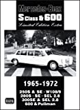 Mercedes-Benz S Class and 600, 1965-1972, R. M. Clarke, 1855206935