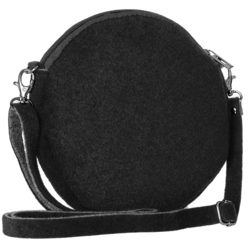 Black from many made Small with Cross Bag colours Flower CASPAR TS590 Womens Body Motif Felt zUwARxP6qn