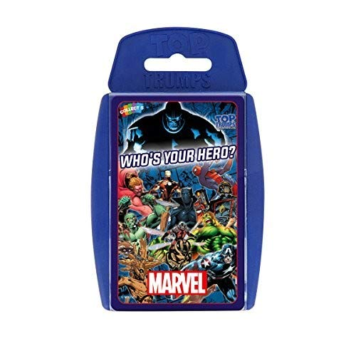 Top Trumps Marvel Card