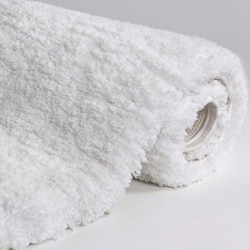 "Lifewit 59""x20"" Bath Runner Rug Soft Shaggy Bath Mat Non-slip Rubber Bathroom Rug Floor Mats"