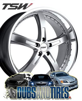 Rim Mirror Finish (TSW JARAMA Silver Wheel with Painted Finish (19 x 8. inches /5 x 4 inches, 40 mm Offset))