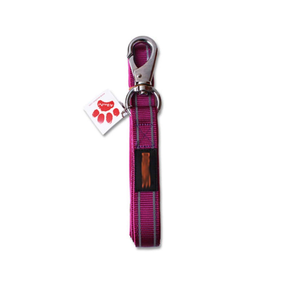 PURPLE Pet Traction 360 Degree no Dead Dog Leash (color   Purple)