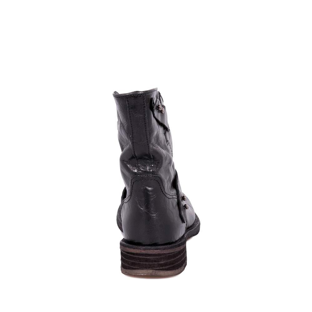 Felmini - Damen Schuhe - Verlieben Verdy B333 Stiefel - Cowboy & Biker Stiefel B333 - Echtes Leder - Schwarz 3a8d78