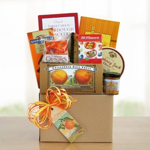 Greetings From the Sunshine State | California Gourmet Gift Basket