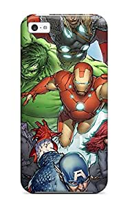Hot Selling NjWVCcF10984AeVxk Case Cover Protector For Iphone 5c- Avengers