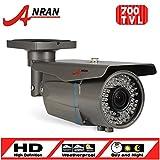 ANRAN CCTV Weatherproof 700TVL EFFIO-E SONY Exview CCD Zoom 2.8-12mm 72 IR Security Camera For Sale