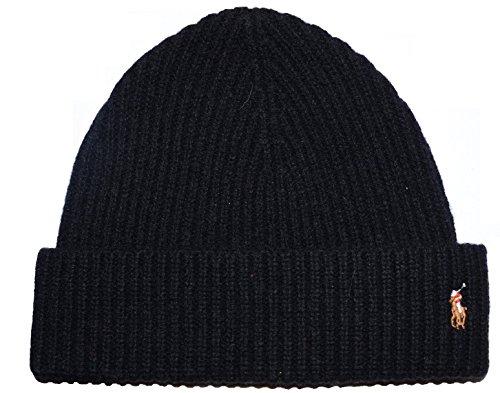 Polo Ralph Lauren Men's Skull Cap Beanie Hat, Black, One Size