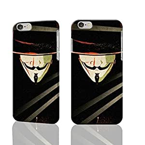 "V For Vendetta Logos Guy Fawkes Mask 3D Rough Case For Iphone 5C Cover Case Skin, fashion design image custom Case For Iphone 5C Coveres , durable Case For Iphone 5C Cover hard 3D Case For Iphone 5C Cover (5.5""), Case New Design By Codystore"
