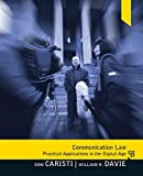 Communication Law, Dominic G Caristi, William R Davie, Michael Cavanaugh, 0205504167