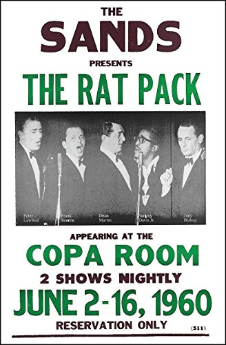 The Rat Pack at The Sands Casino Las Vegas 1960 14