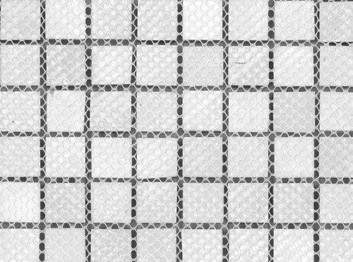 Interceramic Mosaic - Interceramic INSBM1X1GARCT Shimmer Blends Mosaic Glass Tile, 1-by-1-Inch Tile on a 12-by-12-Inch Mosaic Mesh, Garden Matte, 11-Pack