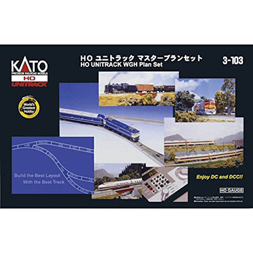 Kato USA Model Train Products UNITRACK World's Greatest H...