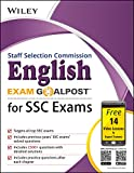 Wiley's English Exam Goalpost for Staff Selection Commission (SSC) Exams