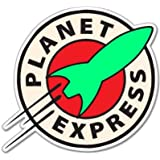 Futurama Planet Express Vynil Car Sticker Decal - 5""