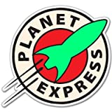 vinyl stickers for cars - Futurama Planet Express Vynil Car Sticker Decal - 5