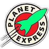 Futurama Planet Express Vynil Car Sticker Decal - 5'