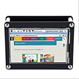 fosa 4 Inch TFT Touch Screen, 480x320 Resolution Touch Display with Protective Acrylic Case, SPI interface Designed for Raspberry Pi A+, B, B+ and Raspberry Pi 2, 3 & Raspbian