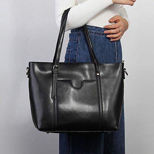 portés Sac Noir M172 portés fashion Sac femme main à Sac cuir bandoulière main en LF Sac épaule DISSA 7qBxfvT