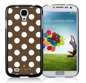 DIY Hot Sale Samsung Galaxy S4 Case,Kate Spade 290 Black New Design Samsung Galaxy S4 I9500 Phone Case