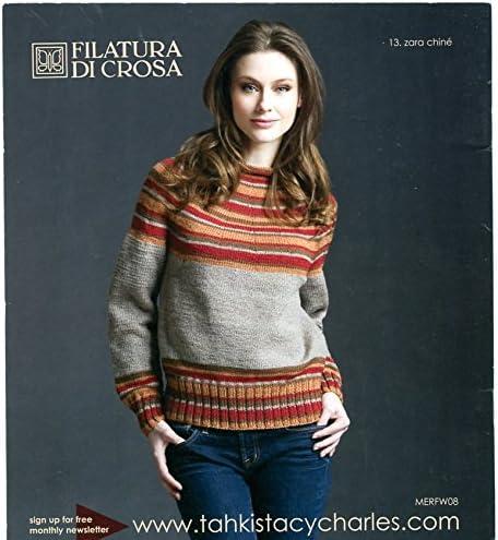 Merino Collection Filatura di Crosa TSC Knitting Pattern Book Fall Winter 2008