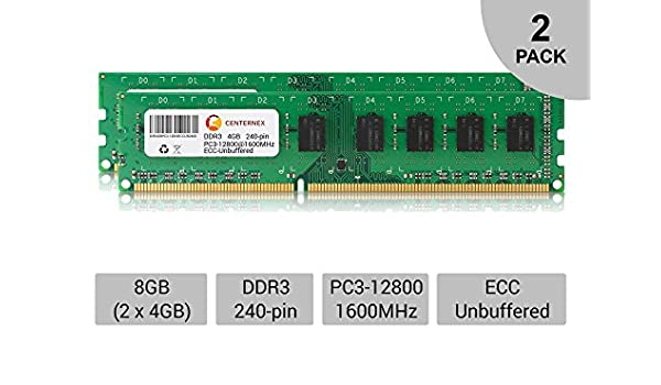 New 8GB 2x4GB PC3-10600 1333MHz 240pin Dell Optiplex 380 390 580 790 990 Memory