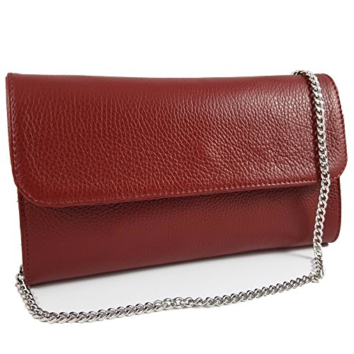 Rouge Italy in femme Foncé Pochette pour Made Freyday TEWYqn66
