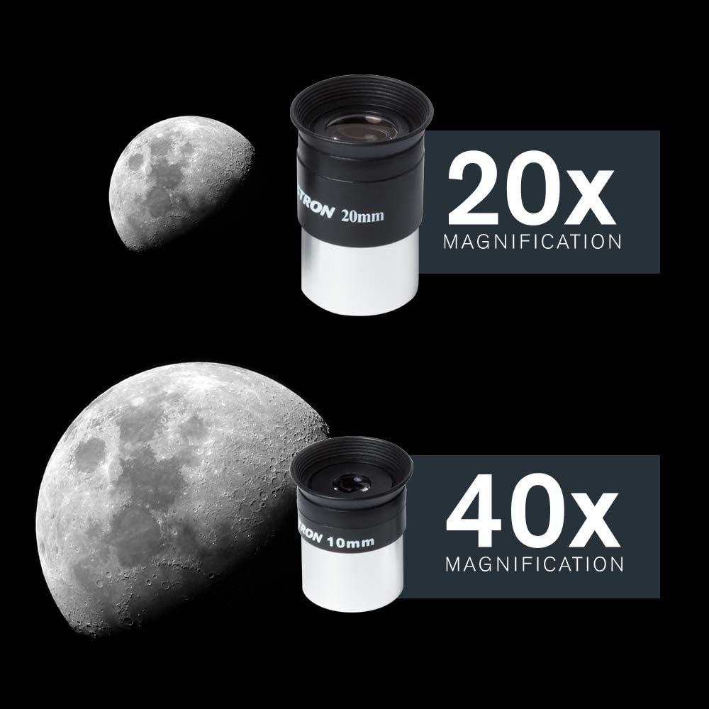Celestron h/öhenverstellbares Stativ Refraktor-Teleskop f/ür Anf/änger Bonus Astronomie-Software-Paket vollbeschichtete Glasoptik AstroMaster 80AZS Refraktor-Teleskop