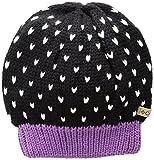Columbia Big Girls' Powder Princess Hat, Black, Crown Jewel, One Size