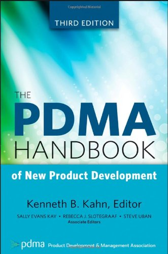 Pdma Handbook Of New Product Develop.