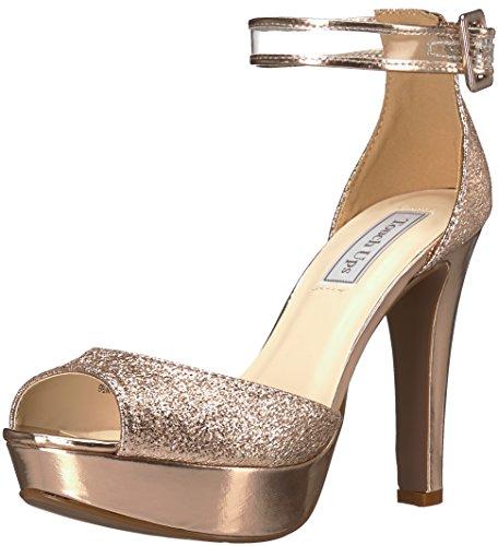 Touch Ups Women's Magnolia Heeled Sandal, Rose Gold, 6.5 M (Prom Platform Sandals)