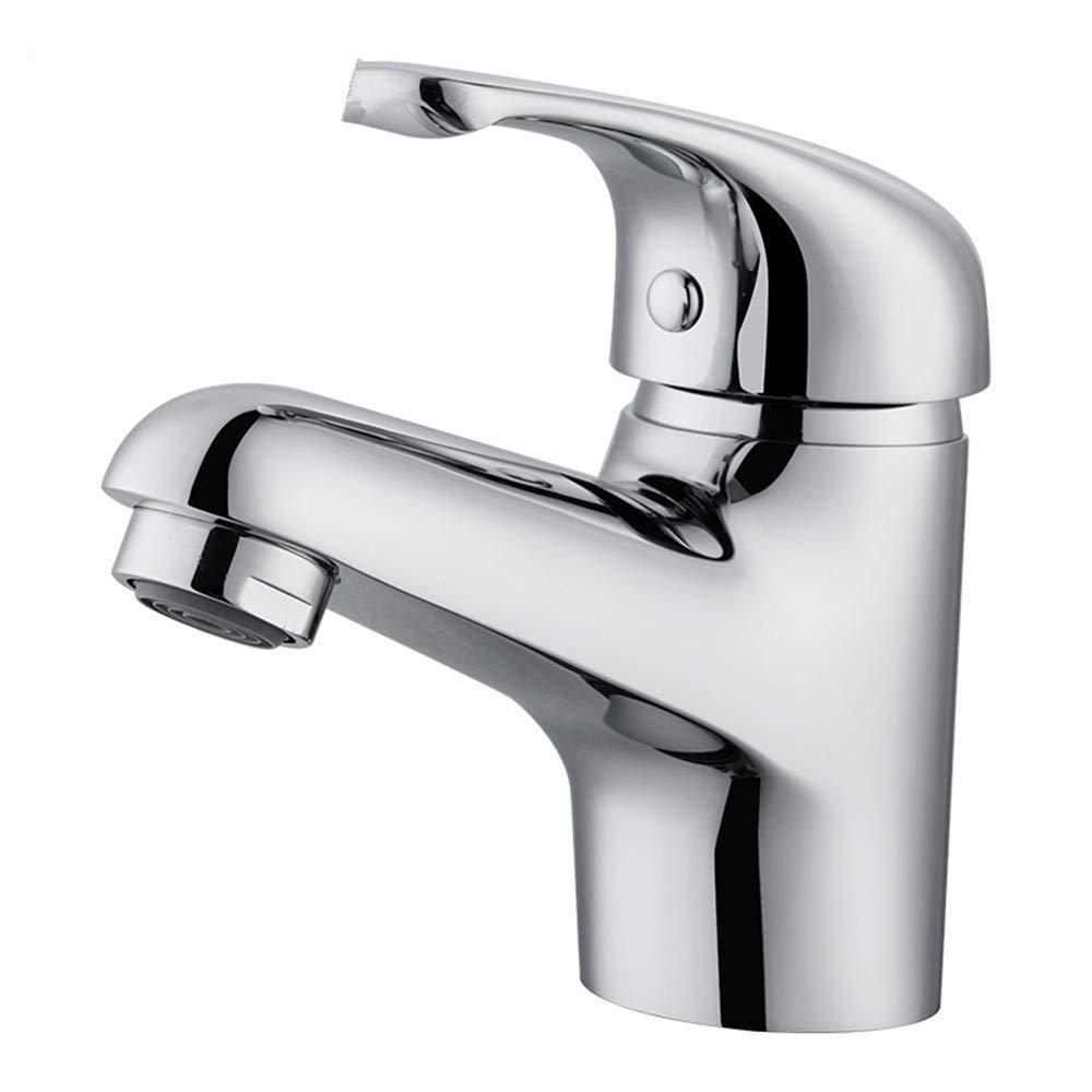 Zhcmy Faucet Bathroom Copper Copper Lead Basin Hot And Cold Faucet Bathroom Vanity Basin Bathroom Cabinet Wash Basin