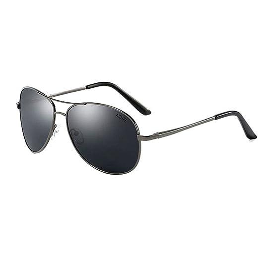 7aa1645fd Image Unavailable. Image not available for. Color: AIDIXI Men women  sunglasses Premium Military Style Classic Aviator Sunglasses, Polarized, 100%  UV