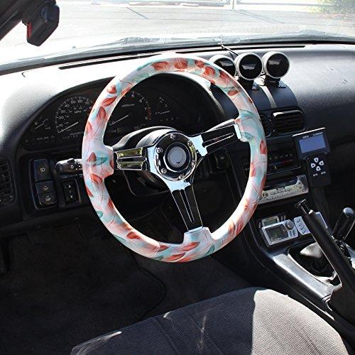 350Mm Water Tsf Wooden Spec-D Tuning SW-H543-1-YM Steering Wheel