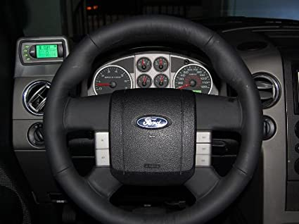 Ford F-150 2004-08 cubierta del volante de RedlineGoods