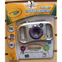 Crayola 5.1MP Digital Camera with 2-Inch LCD Screen (28071-TRU) - Color and Style May Vary