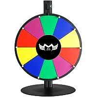 megabrand 40,6cm mesa Color Spinning Premio de borrado en seco Rueda 10Slot