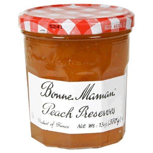 Bonne Maman Preserve, Peach, 13-Ounce