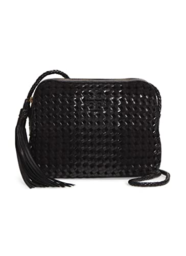 3c5847f0727 Image Unavailable. Image not available for. Color  Tory Burch Taylor Woven  Leather ...