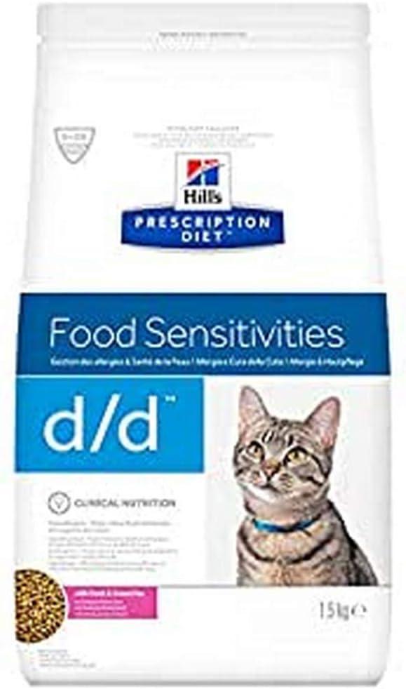 Hill's HPD Feline D/D Pato Guisantes 1,5Kg 1500 g