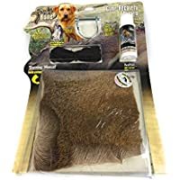 Dog Bone Game Recovery Kit (4-Piece Set) Complete Training and Wounded Game Tracking System   Blood Trail Scent, Drag Line, Real Hide, EZ Clip